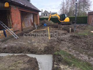 grote en kleine grondwerk... Omgeving Brugge