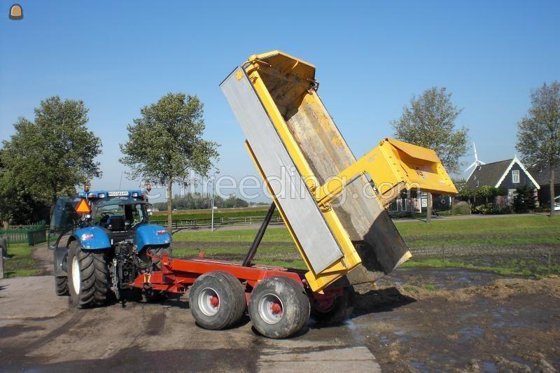 Tractor + kipper vgm 18 tonner