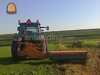 Tractor + klepelmaaier nh + votex 230