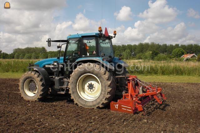 Tractor + rotorkopeg newholland + 3 meter roterkopeg