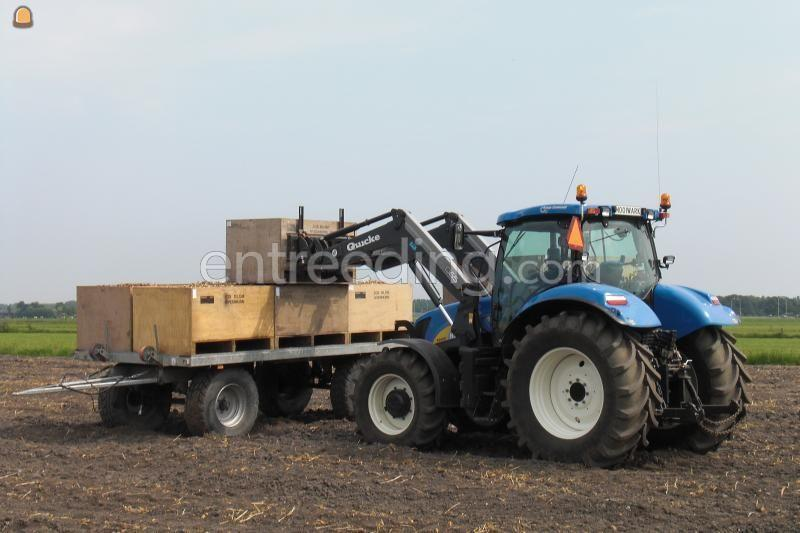 Tractor newholland t6080