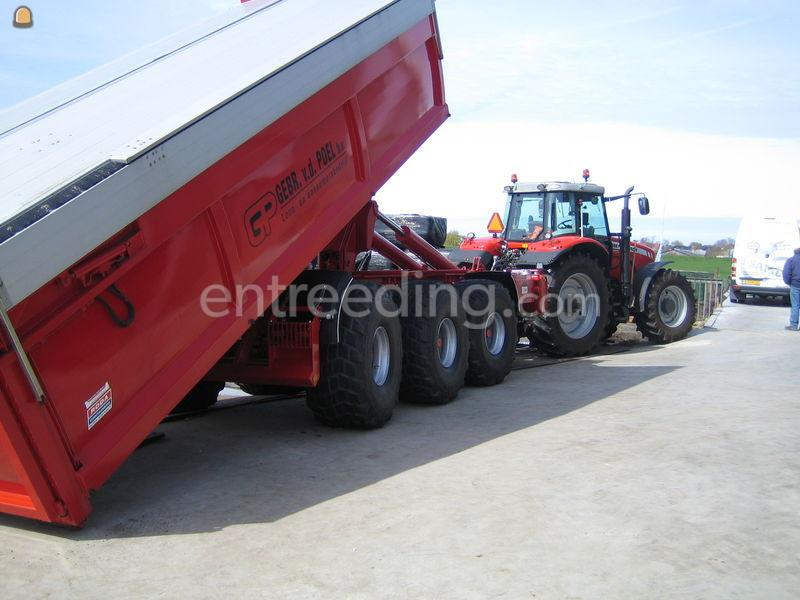 Tractor + carrier Beco Econoom 30000