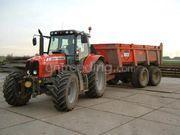 Tractor + kipper Massey Ferguson + Beco 180