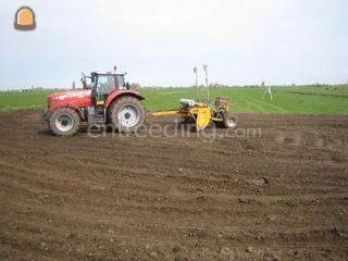 Tractor + kilverbord 5m1 Omgeving Leiden