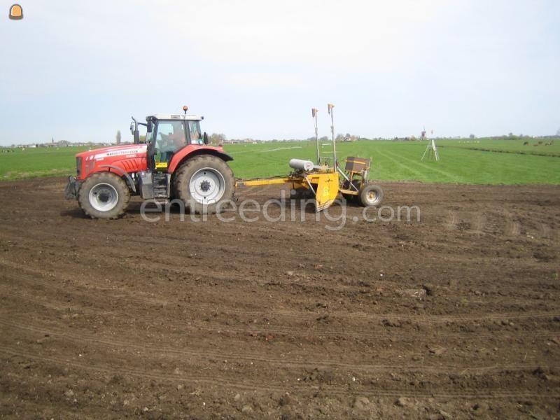 Tractor + kilver Massey Ferguson + kilverbord 5m1