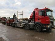 Scania met haakarm