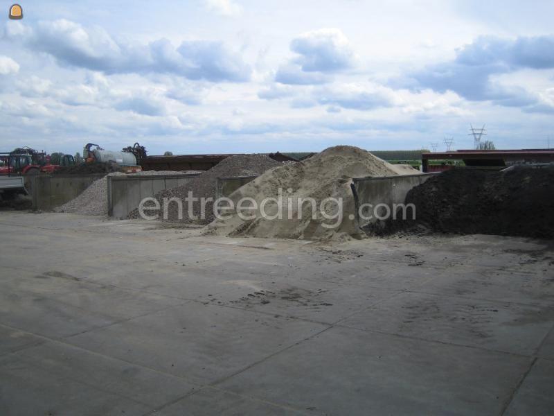 Zand diverse grondstoffen