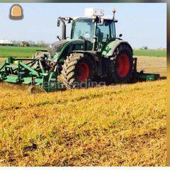 Tractor + rotorkopeg Omgeving Alphen a/d Rijn