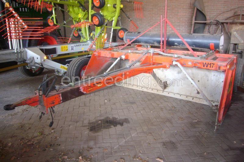 Tractor + kilver Trekker + Bos 5004 4