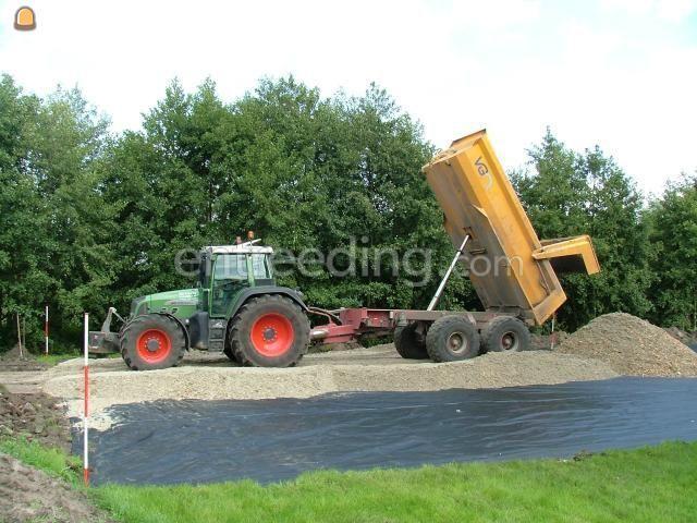 Tractor + kipper Fendt + VGM kieper