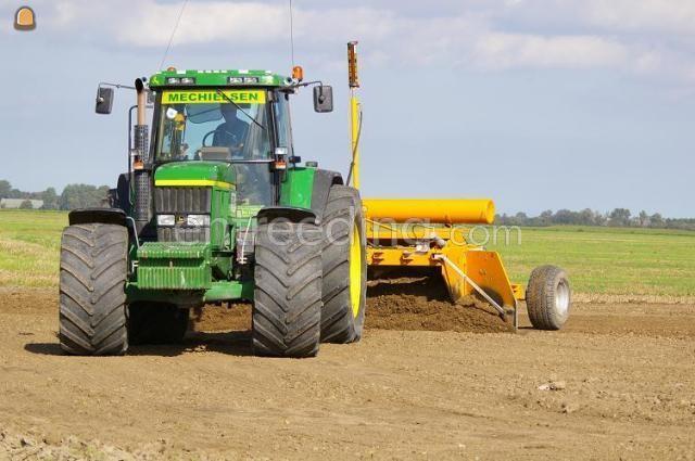 Tractor + kilver JD + Bos