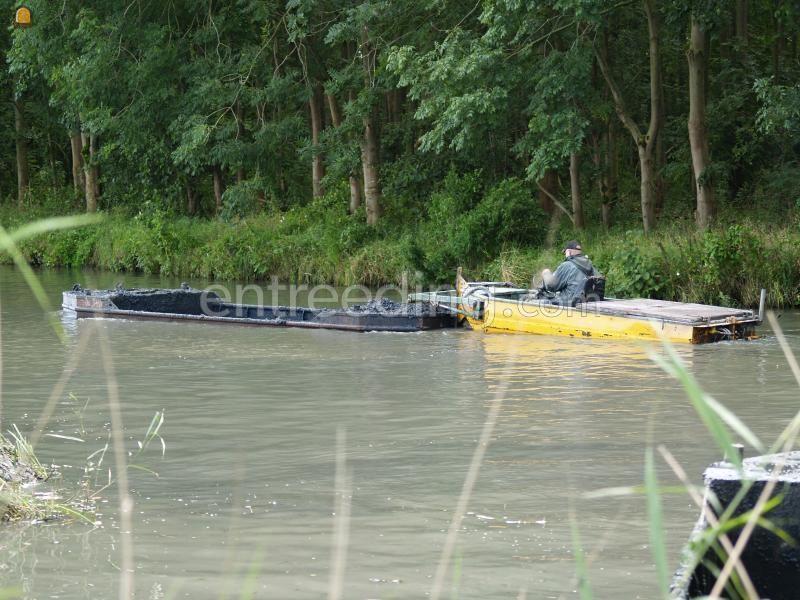 Baggerduwboot Conver dubbel vijzelset