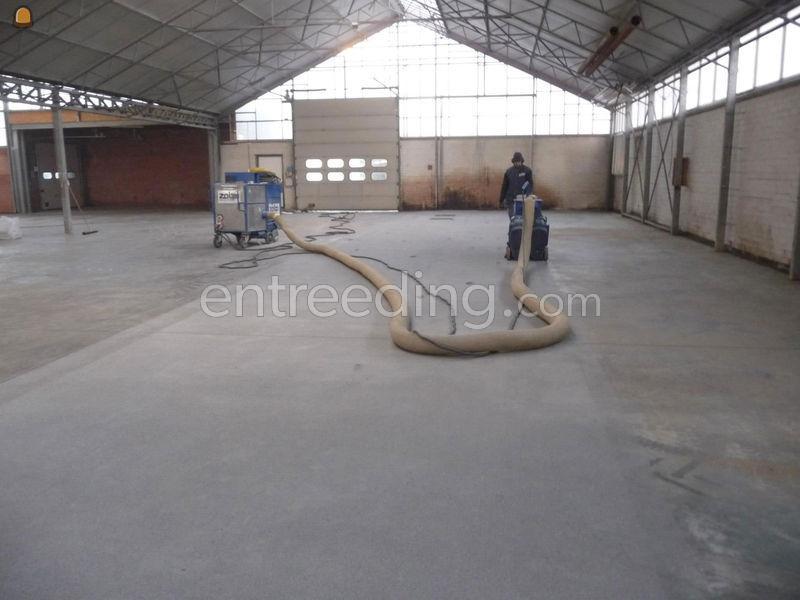 kogelstralen betonvloer