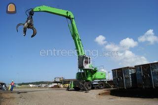Sennebogen 835 M-E serie Omgeving Emmeloord