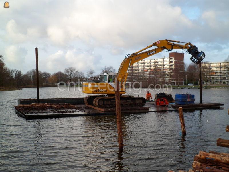Waterwerken Verbetering Petteplas Waddinxveen