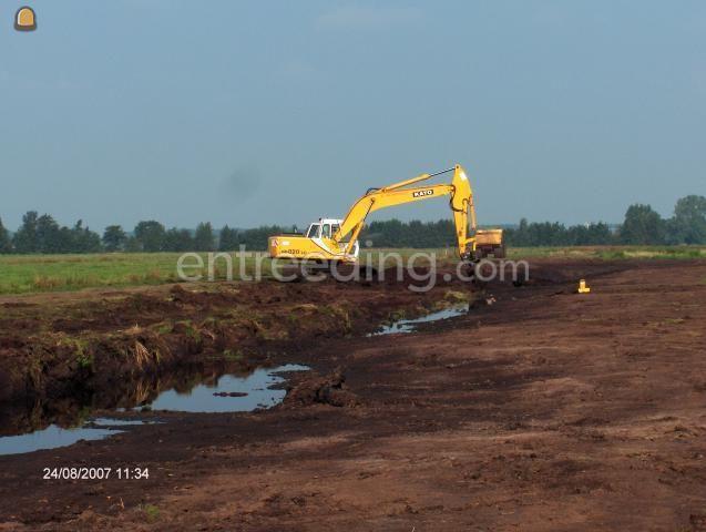 Projecten / werken inrichten natuurgebied Papekop