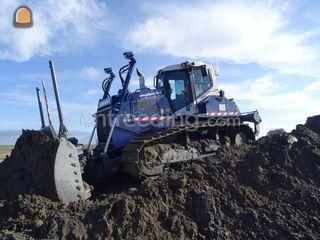 Bulldozer Omgeving Terneuzen