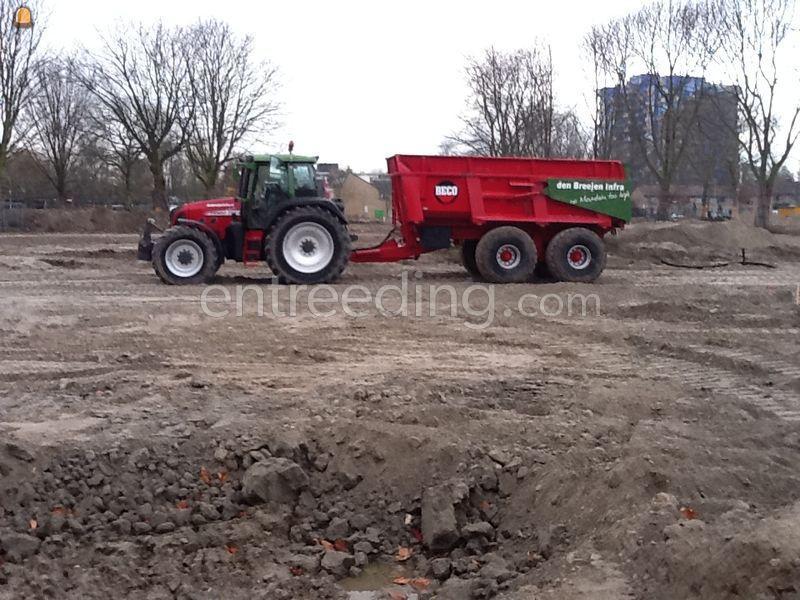 Tractor + kipper Fendt