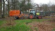 Claas Tractor + Schouten Panda 1806