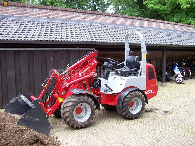 Wiellader / shovel Weidemann 1250CX35