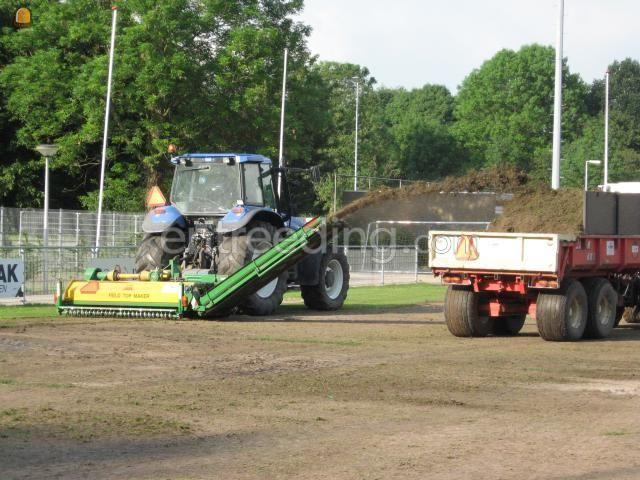 Tractor trekker + fieldtop maker