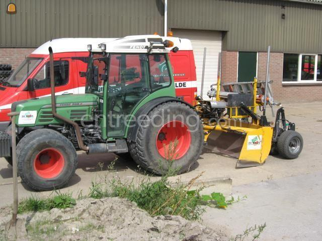 Tractor + kilver trekker + kilverbak 2,5 m