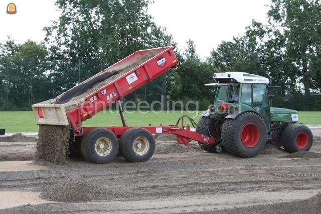 Tractor + kipper Fendt+minibeco