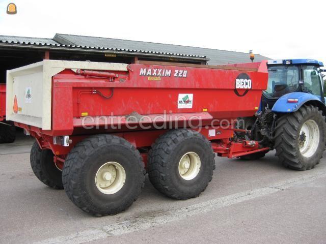 Tractor + kipper trekker+Beco 220