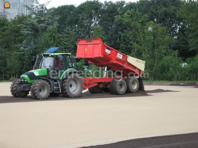 Tractor + kipper Deutz+Beco 160