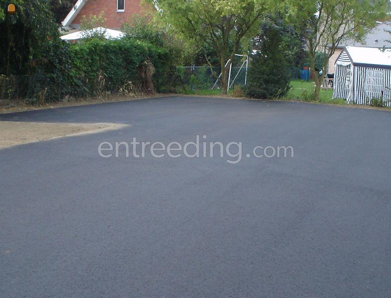 Tuin Asfalteren Kosten : Wegenbouw.be te koop opritten parkings in asfalt klinkers