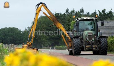 Tractor + armklepelmaaier