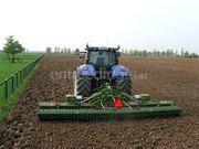 Tractor + rotorkopeg New Holland 7040 + Celli rotorkopeg