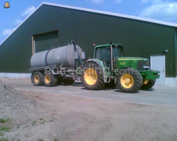 Tractor + waterwagen John Deere 6920 + Jako