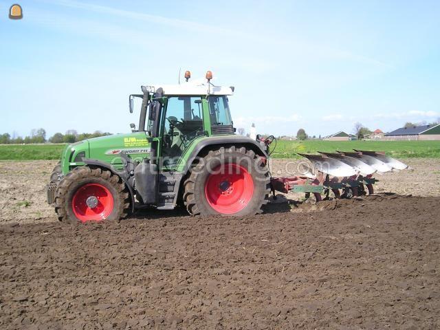 Tractor + ploeg Fendt