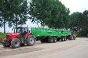 Tractor + kipper MF6490