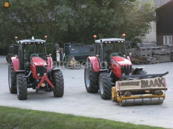 Tractor MasseyFerguson 6490 2maal