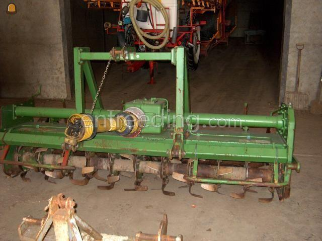 Tractor + grondfrees Celli volvelds frees