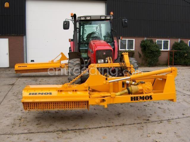 Tractor + klepelmaaier MF6270 + Hemos klepelmaaier