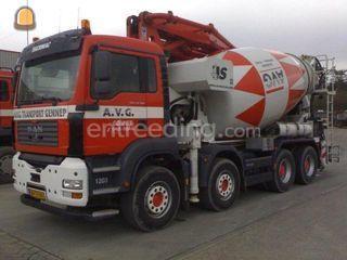 MAN/Scania Mixerpomp 26 m... Omgeving Land van Cuijk
