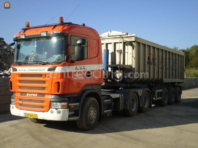 Kippervrachtauto MAN/Scania 6x 4 Kipperopleggers