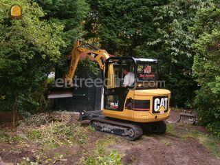 Caterpillar 302.5 ( 3 ton... Omgeving Den Haag