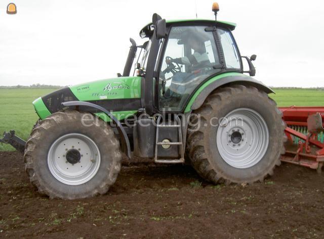 Tractor + rotorkopeg Deutz Fahr + rotoreg