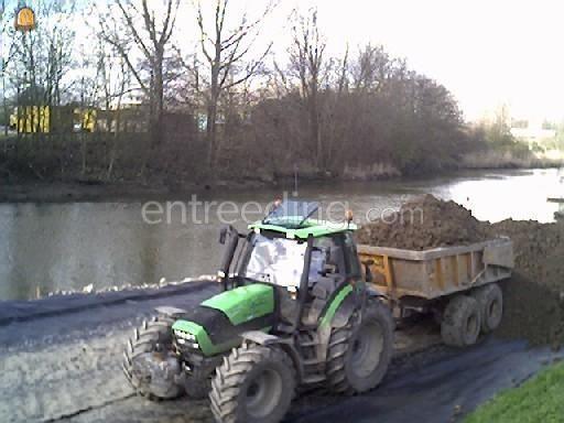 Tractor + kipper Deutz TTV + Veenhuis