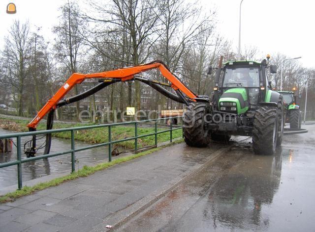 Tractor + baggerpompen