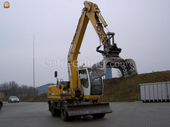 Mobiele graafmachine Liebherr 900 litr.