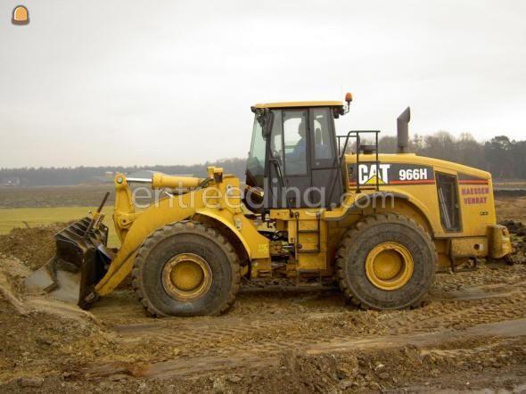 Wiellader / shovel Caterpillar 966H
