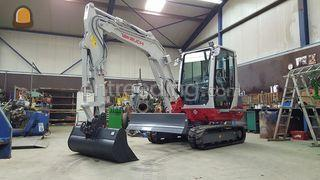 Takeuchi TB 235 Omgeving Middenmeer
