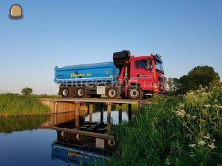 MAN 8x4 WS Knijperauto Omgeving Zwolle