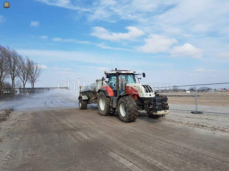 Steyr cvt 6170 + 8 m3 waterwagen