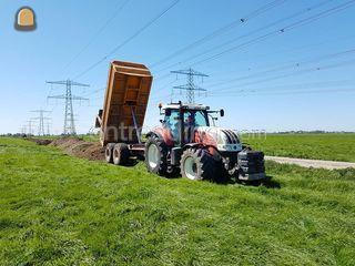 Steyr cvt 6170 + 14 m3 Ki... Omgeving Zwolle